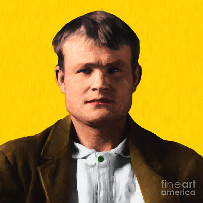 Butch Cassidy 20130513 Square Print by Wingsdomain Art and Photography