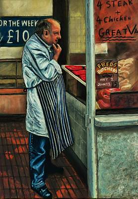 Still Pastel - Butchers Profit by Bob Northway