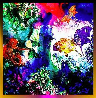Cockatoo Mixed Media - Butterflies by Hartmut Jager