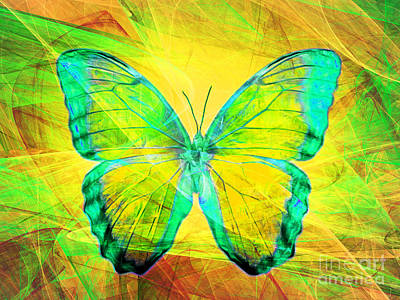 Pest Digital Art - Butterfly Dsc2969m128 by Wingsdomain Art and Photography