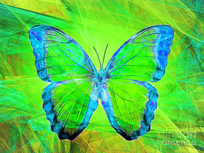 Pest Digital Art - Butterfly Dsc2969m88 by Wingsdomain Art and Photography