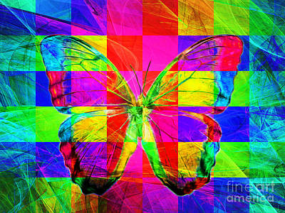 Pest Digital Art - Butterfly Dsc2969v2 by Wingsdomain Art and Photography