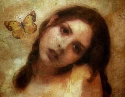 Butterflies Digital Art - Butterfly Farewell by Gun Legler