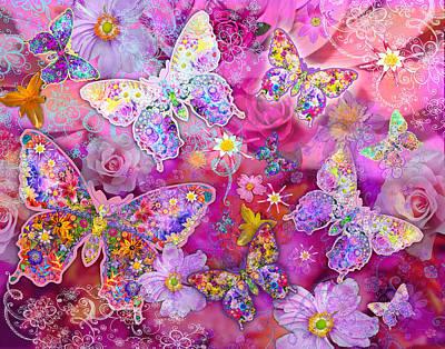 Alixandra Mullins Photograph - Butterfly Flower Land by Alixandra Mullins
