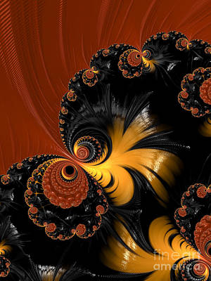 Backdrop Digital Art - Butterfly  by Heidi Smith