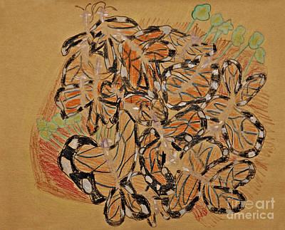 Butterfly Menagerie Original by Stephanie Ward
