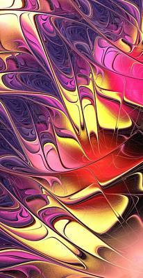 Butterfly Digital Art - Butterfly Wing by Anastasiya Malakhova