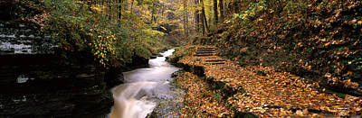 Buttermilk Photograph - Buttermilk Creek, Ithaca, New York by Panoramic Images