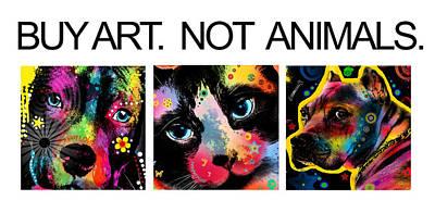 Funny Cat Digital Art - Buy Art 2  by Mark Ashkenazi