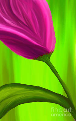 Artrage Painting - By Any Other Name by Anita Lewis