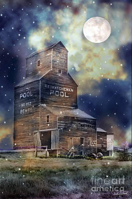 Judy Wood Digital Art - By The Light Of The Moon by Judy Wood