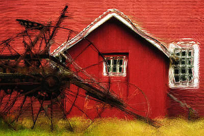 By The Mill House Print by Jack Zulli