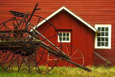 By The Mill House Version 2 Print by Jack Zulli