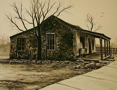 Artist Richard Brooks Painting - Bygone Days In Old San Antonio. by Richard Brooks