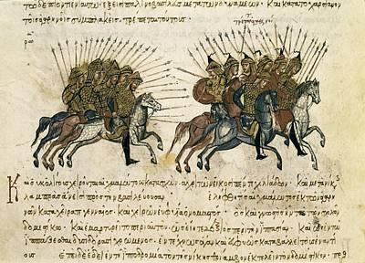 Byzantine Empire. Campaigns Print by Everett