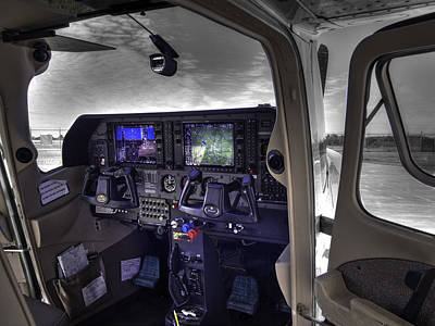 C A P Cessna 182 Skylane G1000 Fsx V1 Print by John Straton