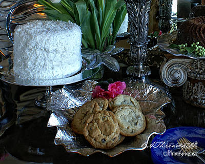 C And C Cake And Cookies Original by Cathy Threadgill