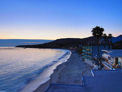 Blue Photograph - Ca Beach - 121235 by DC Photographer