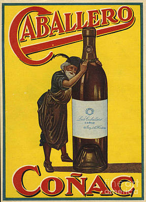 Caballero  1935  1930s Spain Cc Brandy Print by The Advertising Archives