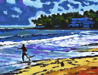 Caribbean Painting - Cabarete by Douglas Simonson