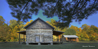 Daviess County Photograph - Cabin At Yellow Creek by Wendell Thompson