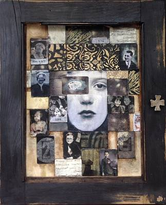 Mixed Media - Cabinet Of Dreams by Susan McCarrell