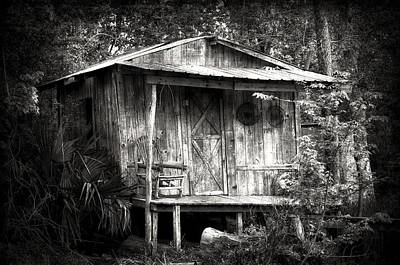 Cabins Of Southern Louisiana Print by Photography  By Sai