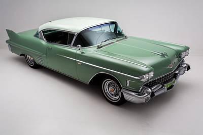 Caddy Digital Art - Cadillac Deville 1958 by Gianfranco Weiss