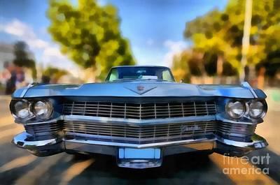 1964 Cadillac Series 62 Deville Print by George Atsametakis