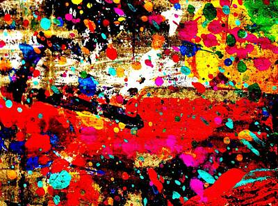 Cadmium Abstract Original by John  Nolan