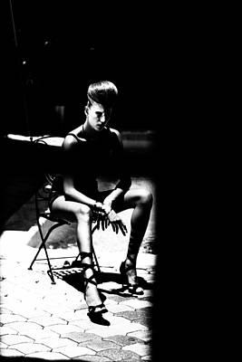 Fineart Mixed Media - Caelitus Mihi Vires by Maria  Lankina