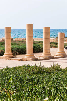 Sea View Photograph - Caesarea by Yevgeni Kacnelson