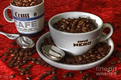 Cafe Nero Print by Tracy  Hall