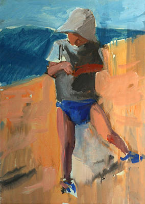 Loose Style Painting - Cagnes by Daniel Clarke