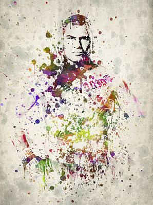 Boxer Drawing - Cain Velasquez by Aged Pixel