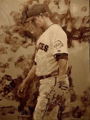 Cain Painting - Cain Walk by Darren Kerr