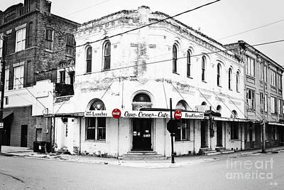 South Louisiana Photograph - Cajun Corner Cafe by Scott Pellegrin