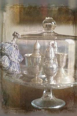 Cake Stand With Tassel Print by Suzanne Powers