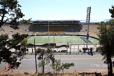Cal Bears Photograph - Cal Bears California Memorial Stadium Berkeley California 5d24656 by Wingsdomain Art and Photography