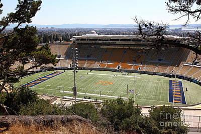 Cal Bears California Memorial Stadium Berkeley California 5d24659 Print by Wingsdomain Art and Photography