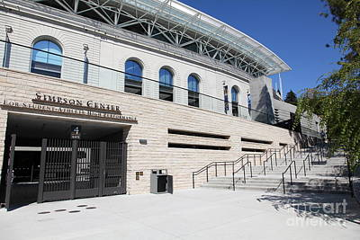 Cal Golden Bears California Memorial Stadium Berkeley California 5d24751 Print by Wingsdomain Art and Photography