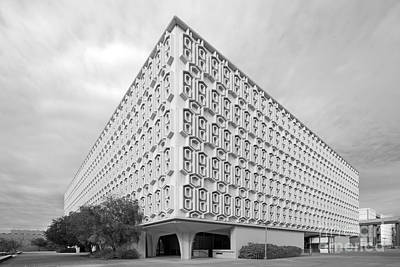Cal State University Pollak Library Print by University Icons