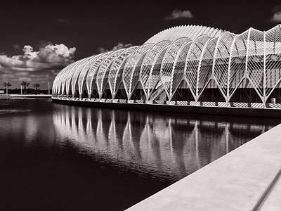 Calatrava 7 Print by Gordon Engebretson