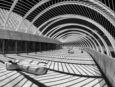 Calatrava 8 Print by Gordon Engebretson