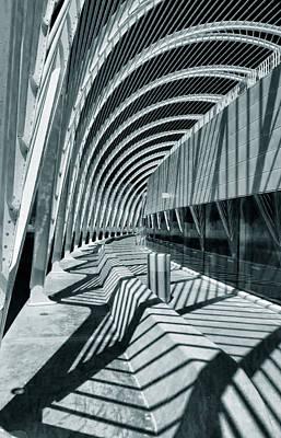 Calatrava 9 Print by Gordon Engebretson
