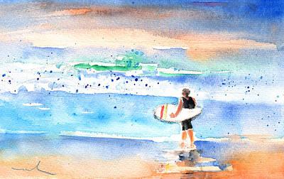Lanzarote Painting - Caleta De Famara 04 by Miki De Goodaboom