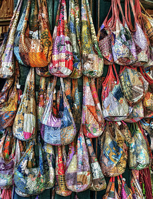 Photograph - Calico Bags by Brenda Bryant