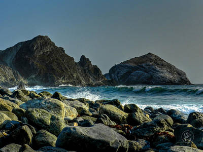 California - Big Sur 013 Print by Lance Vaughn