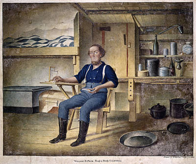 Forty Painting - California Gold Miner, 1853 by Granger