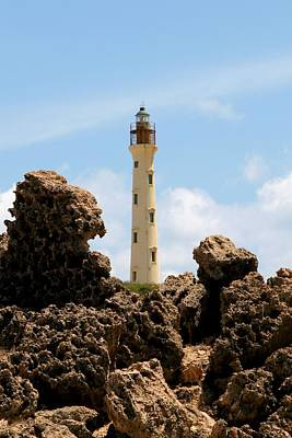 Aruba Photograph - California Lighthouse Aruba by DJ Florek